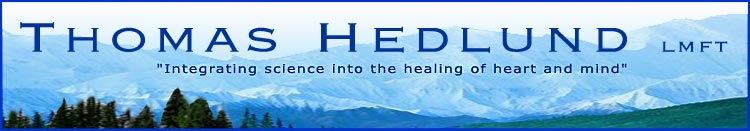 "Welcome to Thomas Hedlund ""Integrating Science into the Healing of Heart and Mind"""